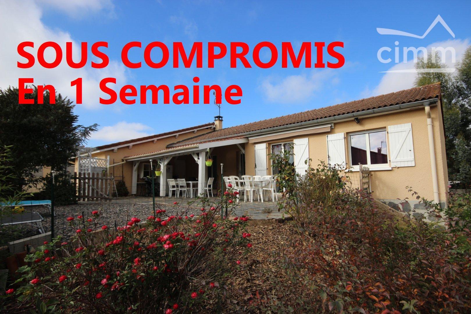 vente maison/villa 5 pièces VEAUCHE 42340