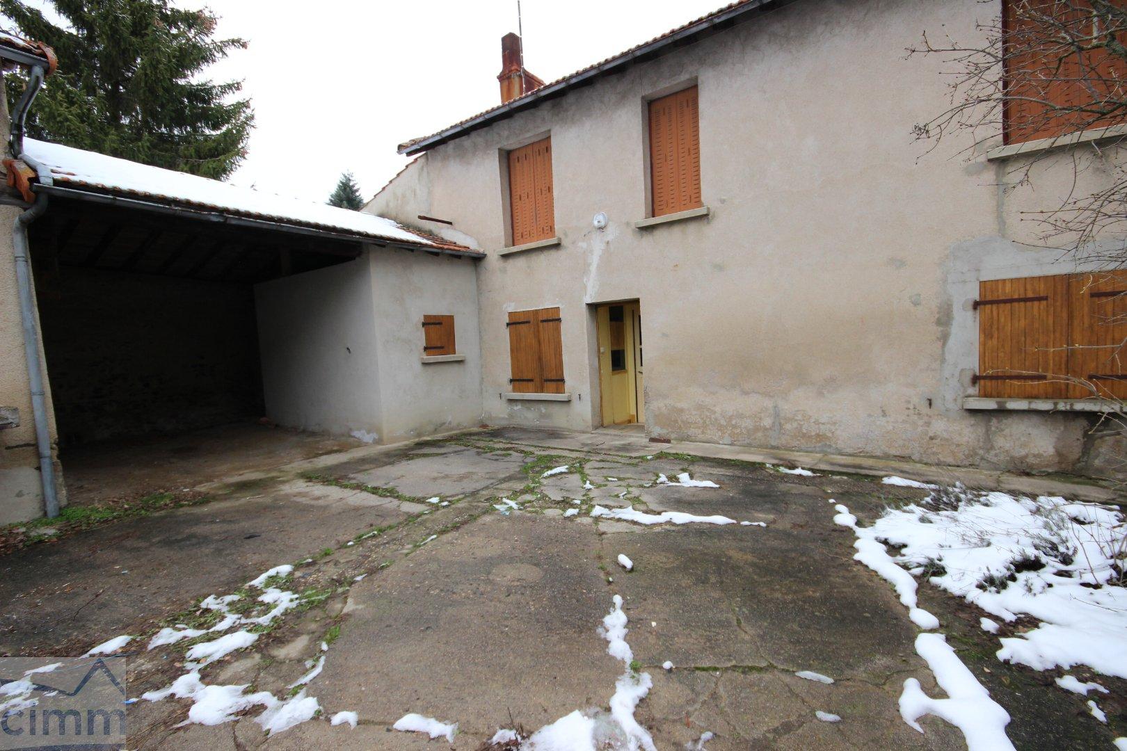 vente maison/villa 4 pièces MONTCHAL 42360