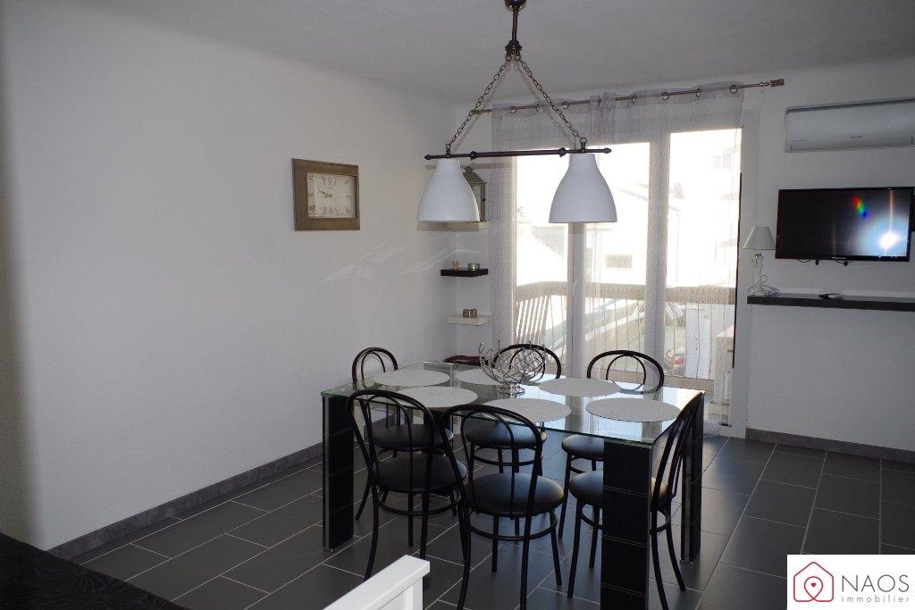 vente appartement 2 pièces CANET EN ROUSSILLON 66140