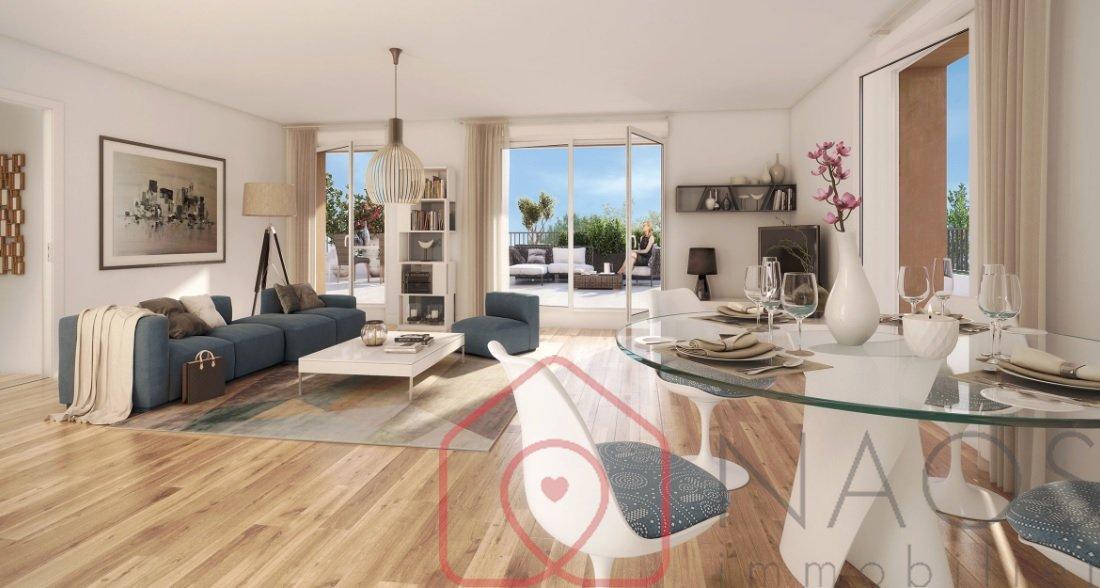 vente appartement 3 pièces LE BOURGET 93350