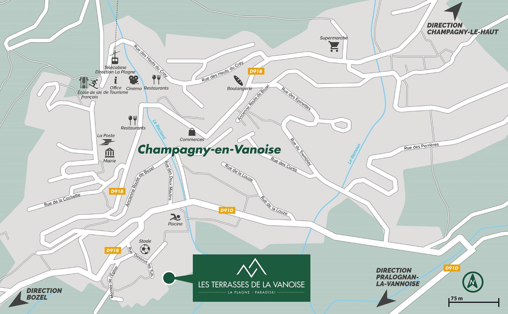 Photo of CHAMPAGNY - Programme neuf LES TERRASSES DE LA VANOISE - Penthouse T6 Duplex
