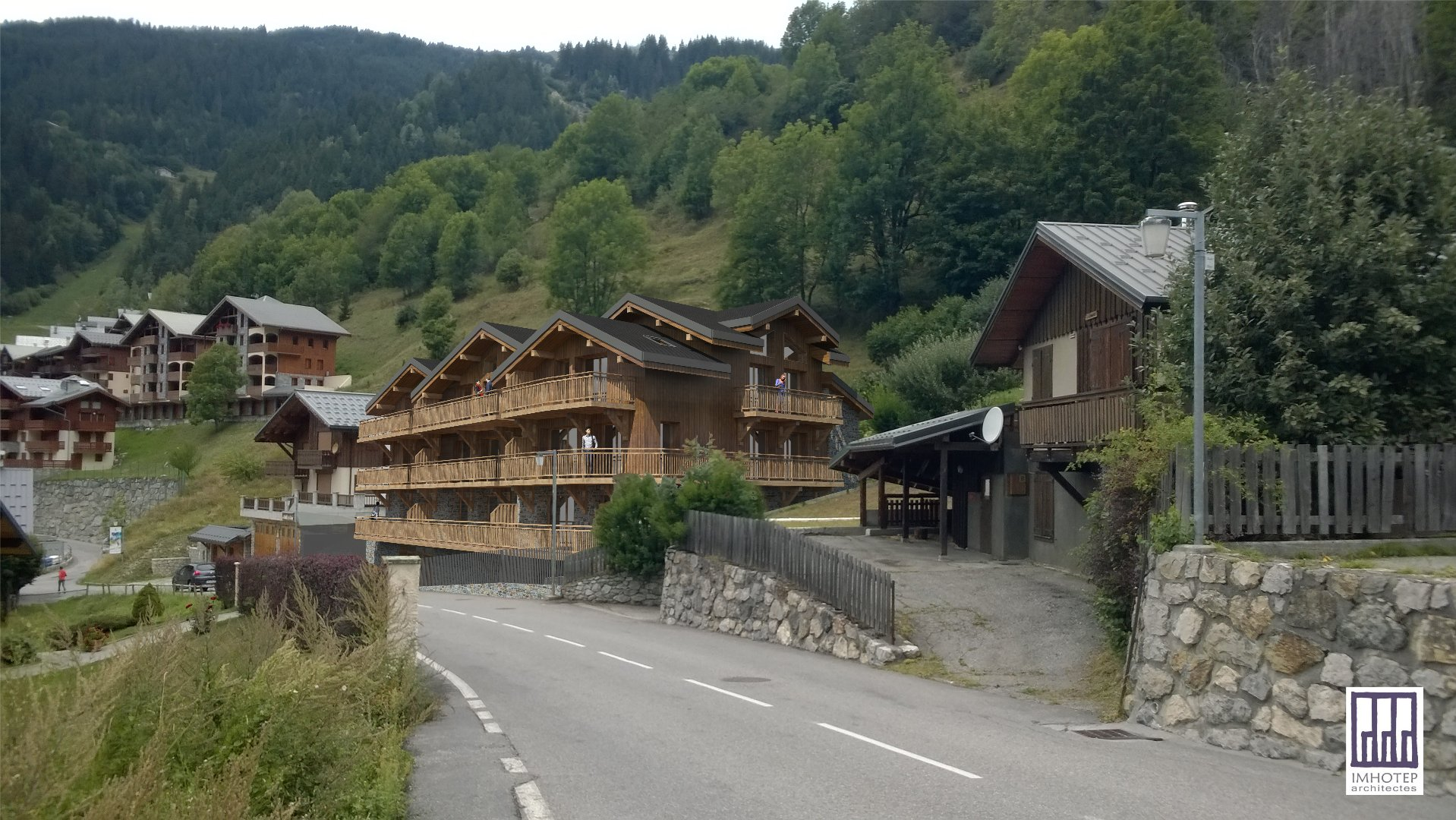 Programme neuf LE PALAIS DES DODES - 2 bedroom apartments, South exposed Chalet in Champagny