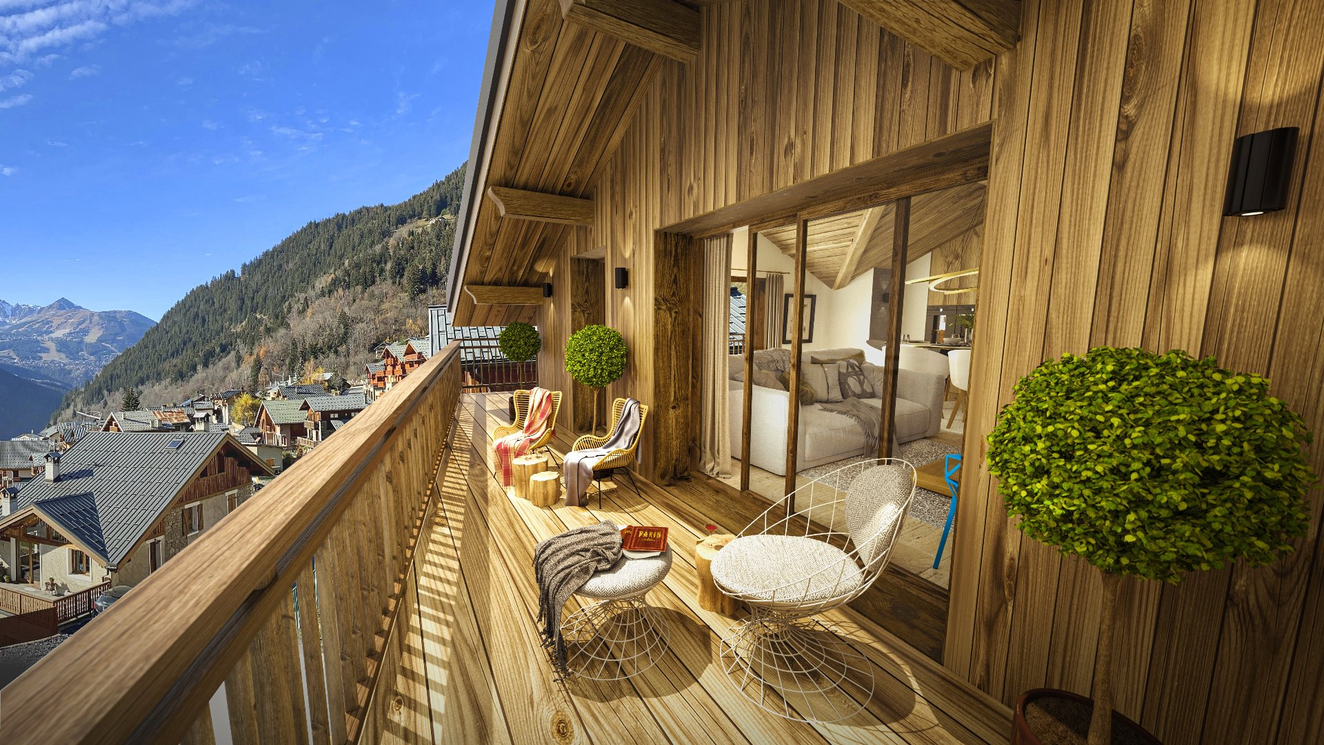 Programme neuf LE PALAIS DES DODES - Large 2 bedroom apartment Accommodation in Champagny